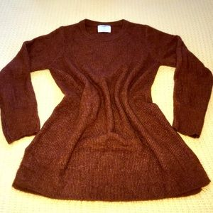 Old Navy Maternity Rust Brown Sweater Sz M